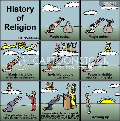 religious history cartoon