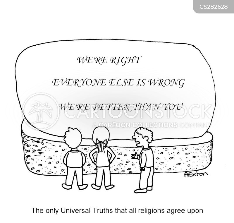 universal truths cartoon