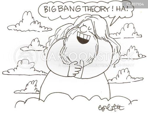 religion vs science cartoon