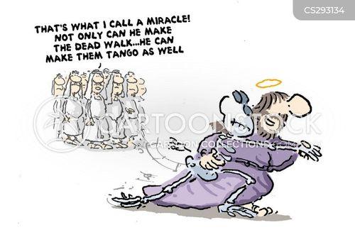 lazarus cartoon