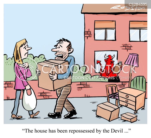 evil spirit cartoon