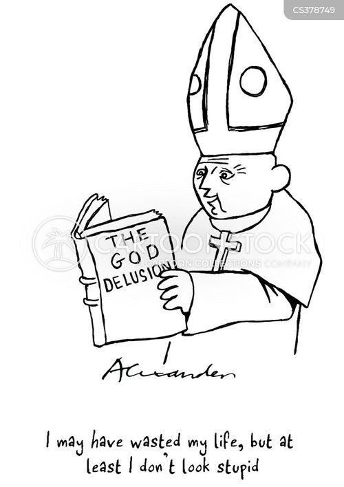 the god delusion cartoon