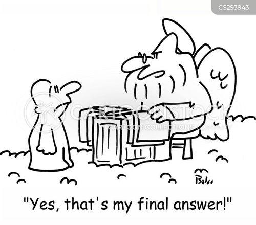final answer cartoon