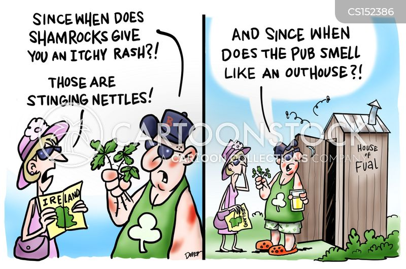 st patricks cartoon