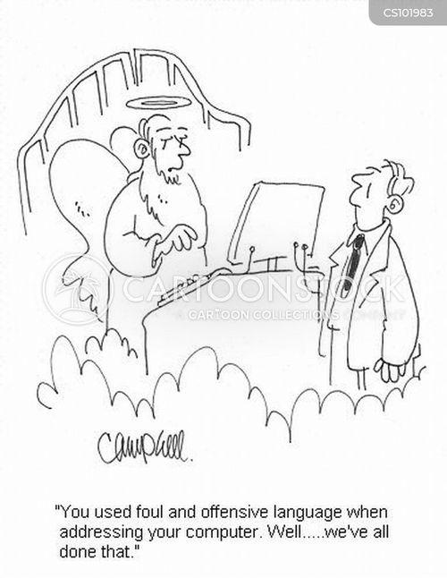 sinned cartoon