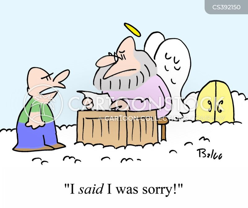 forgives cartoon