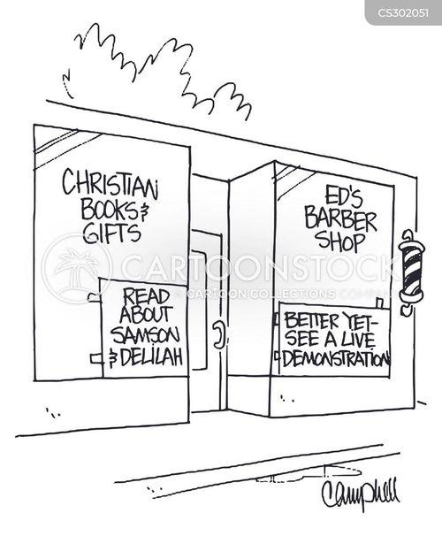 samson cartoon