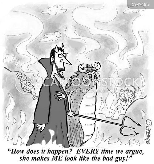 villainy cartoon