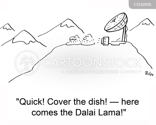 dalai lama cartoon
