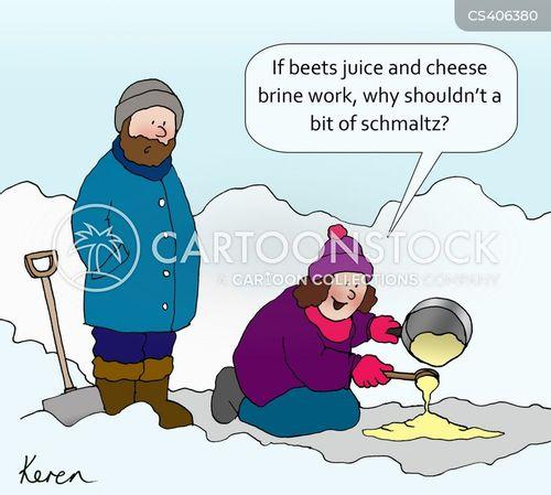 frost cartoon