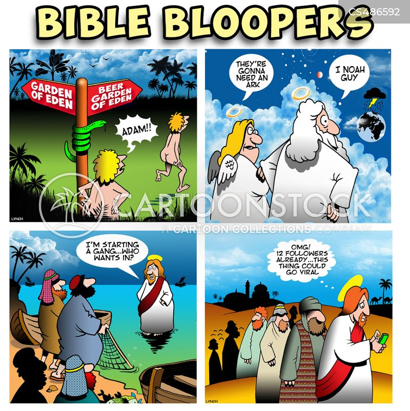 bloopers cartoon