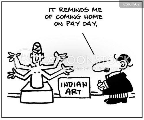 pay days cartoon