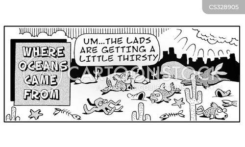 drout cartoon