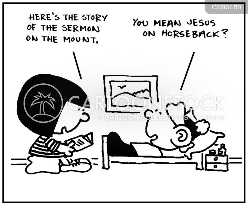 horsebacks cartoon