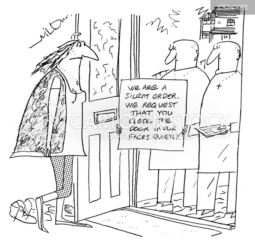 silent order cartoon