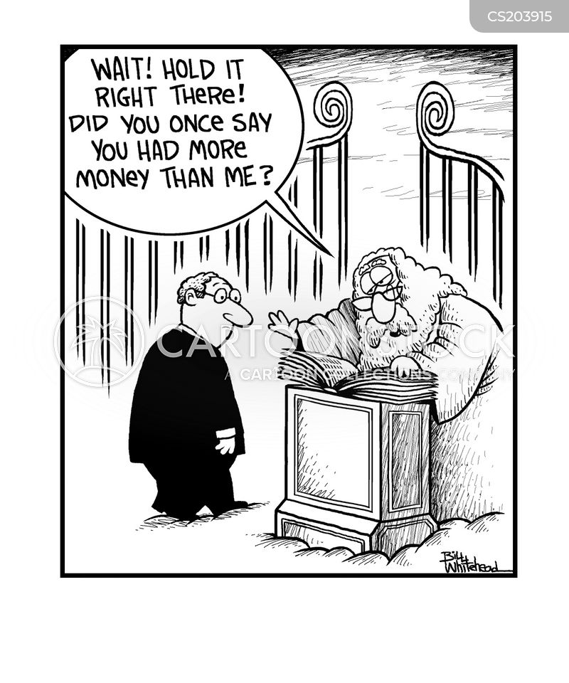 pearly gate cartoon