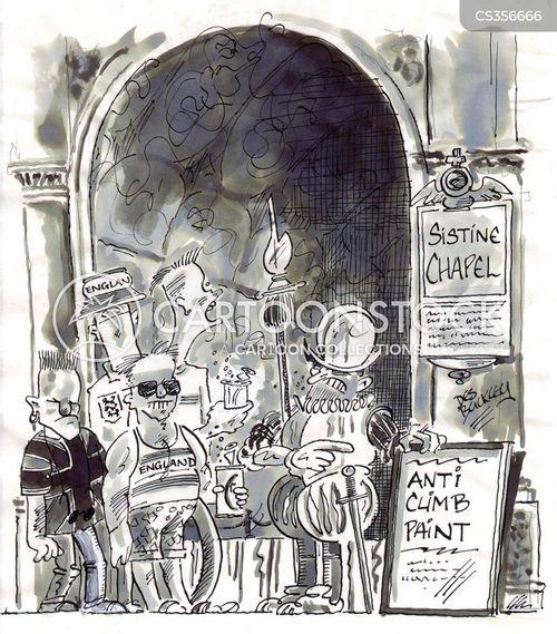 brits abroad cartoon