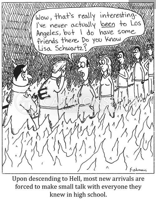 in hell cartoon