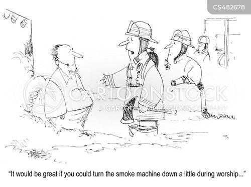 showman cartoon