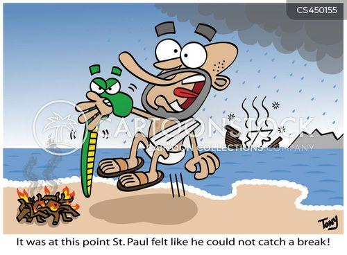 apostle paul cartoon