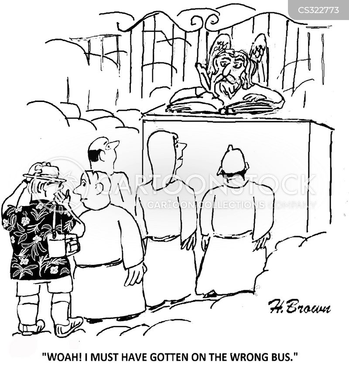 sudden death cartoon