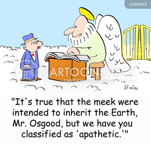 meek will inherit the earth cartoon