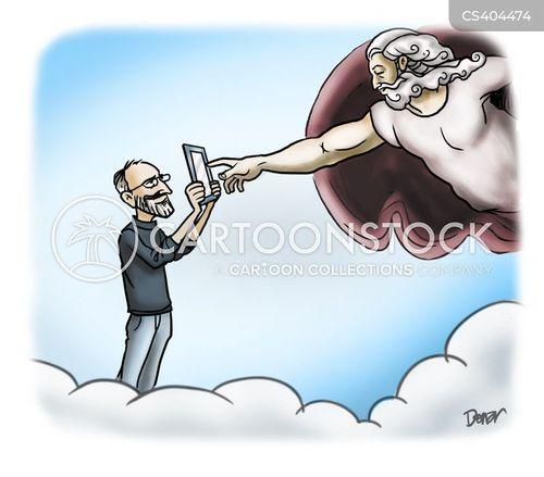 famous figure cartoon