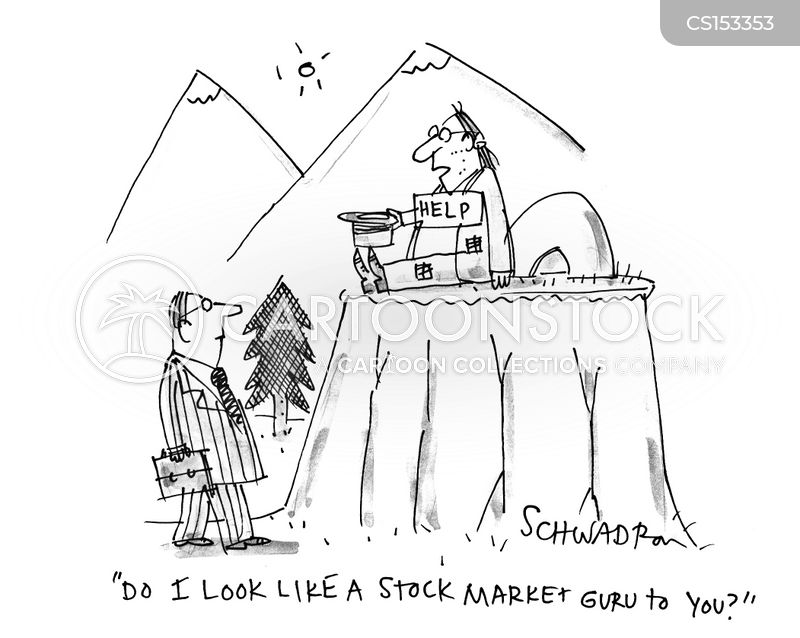 mountain guru cartoon