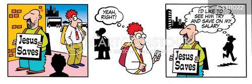credit account cartoon