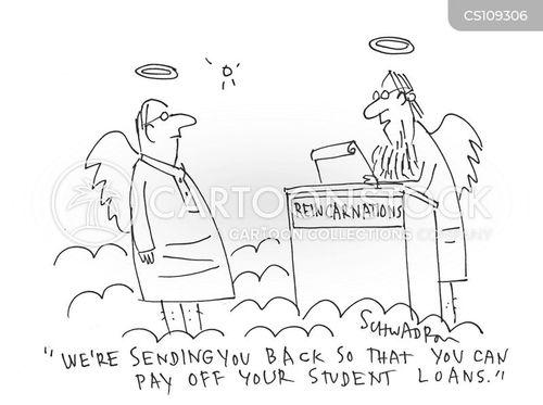reincarnates cartoon