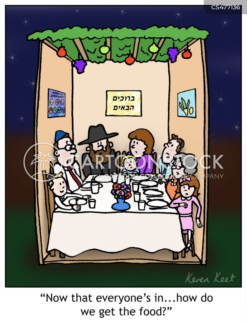 jewish festivals cartoon