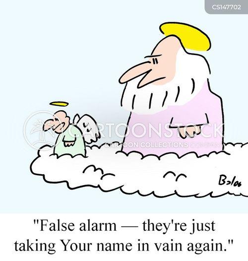 cussed cartoon
