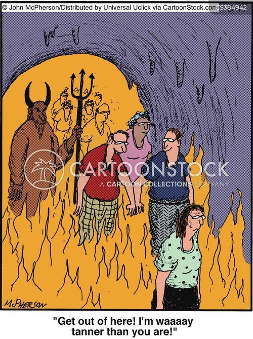 flamed cartoon