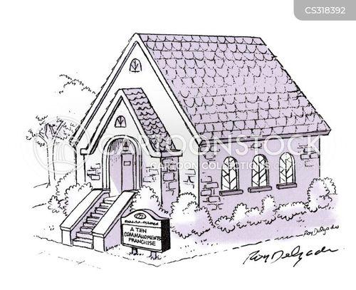 cathedrals cartoon