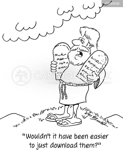 religious rules cartoon