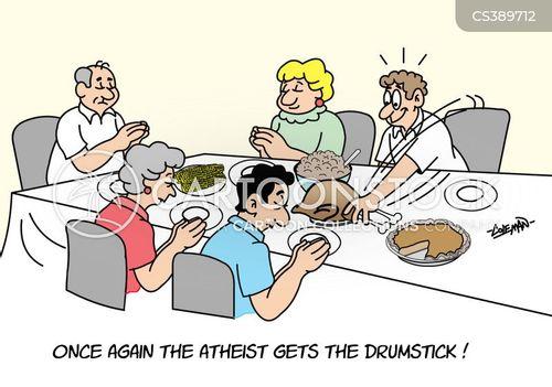 give thanks cartoon