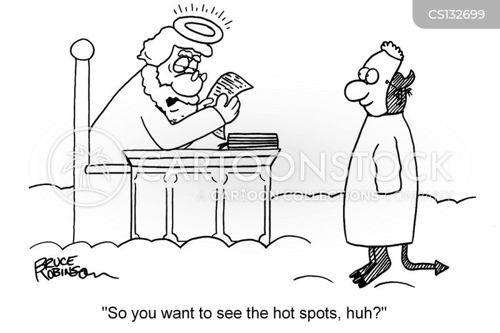 hot-spots cartoon