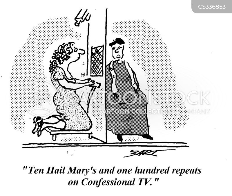 hail mary cartoon