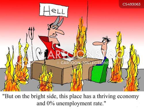 unemployment rate cartoon