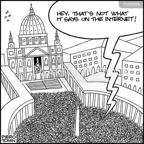 benedict xvii cartoon