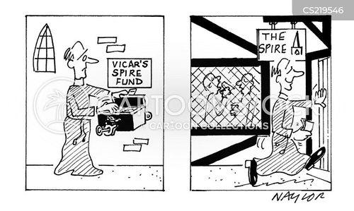 spire cartoon