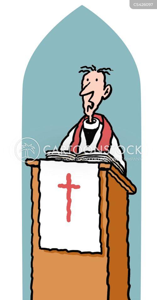 pulpit cartoon