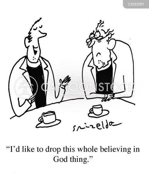 theist cartoon