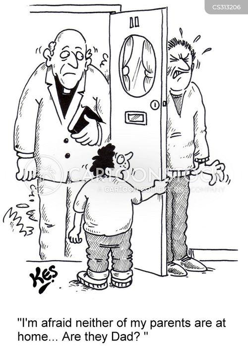 protestant cartoon