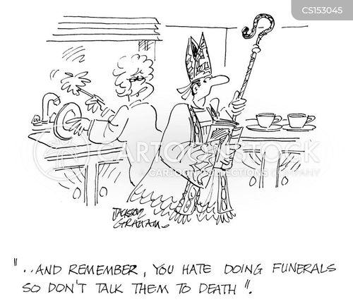 sunday sermon cartoon