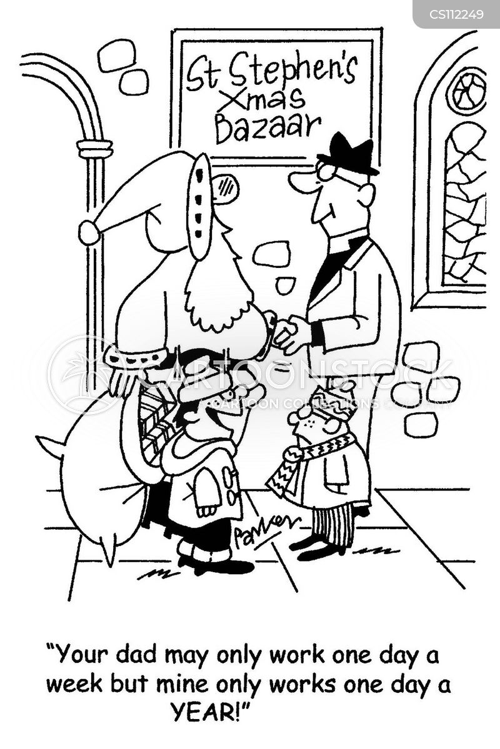 bazaar cartoon