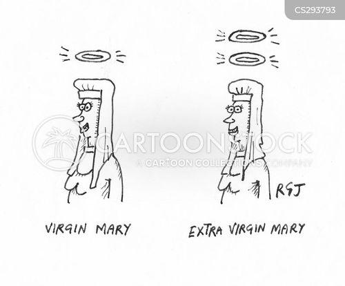 extra virgin cartoon
