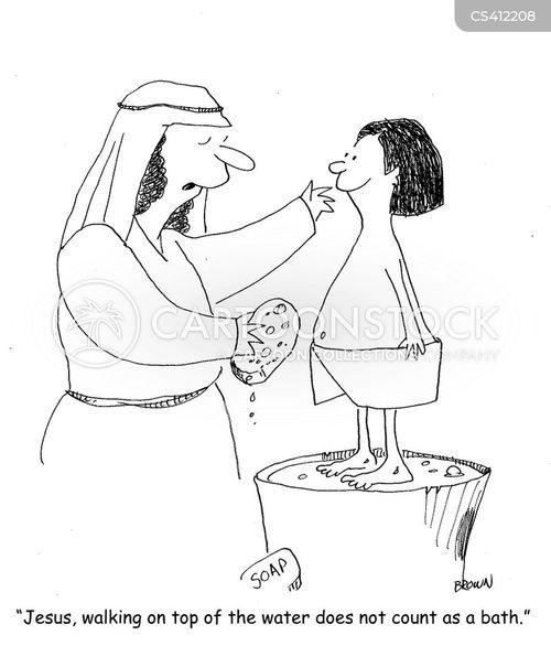 bathtime cartoon