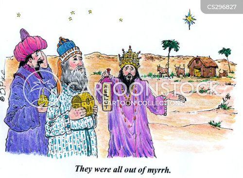 three magi cartoon