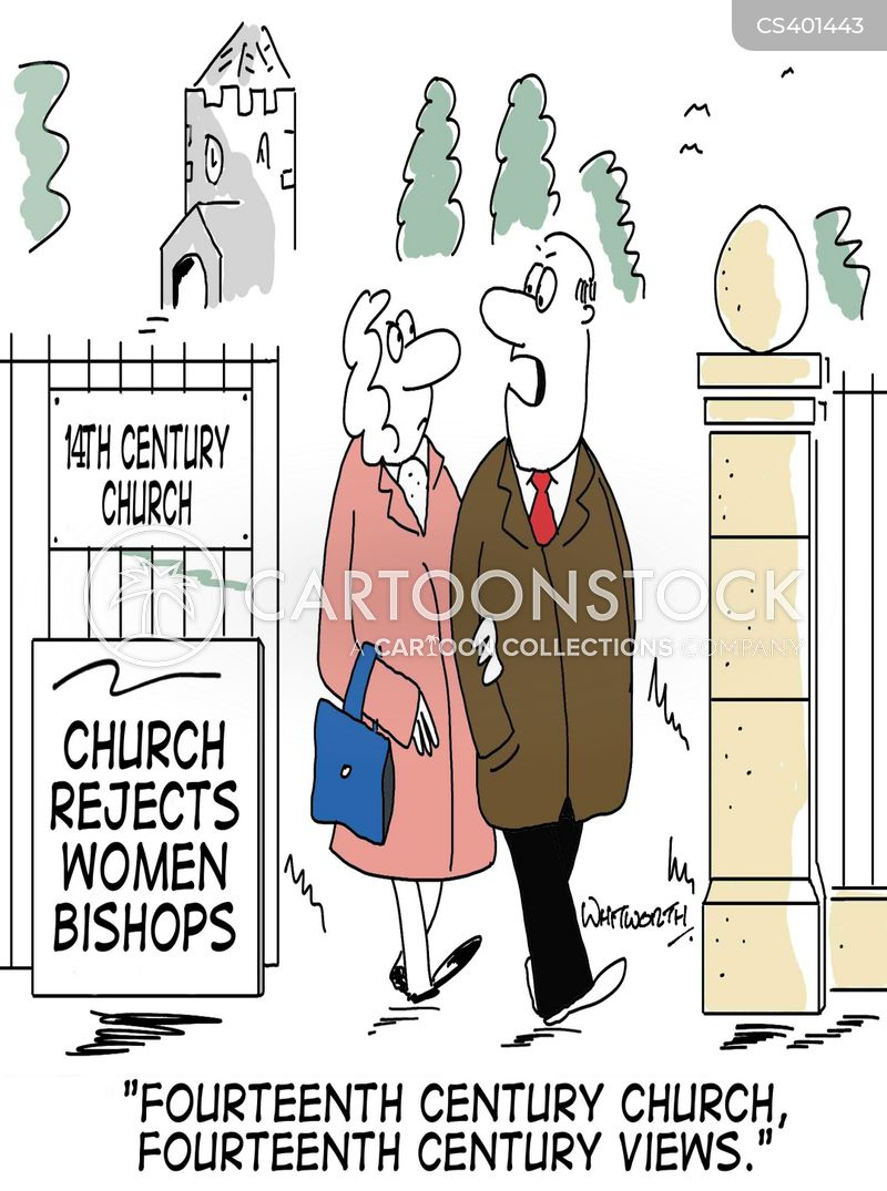 female bishops cartoon